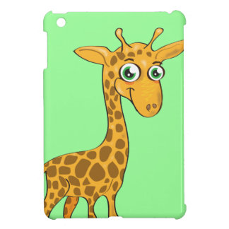 Cute Kawaii Giraffe iPad Mini Cover