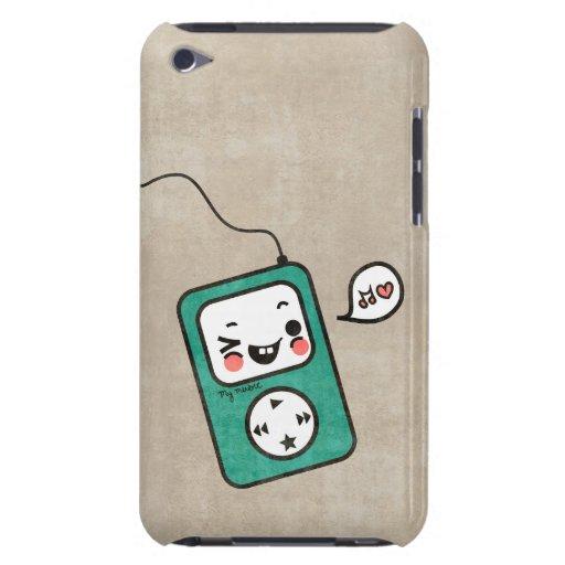 Cute Kawaii Grunge Cartoon MP3 player ipod case iPod Case-Mate Case