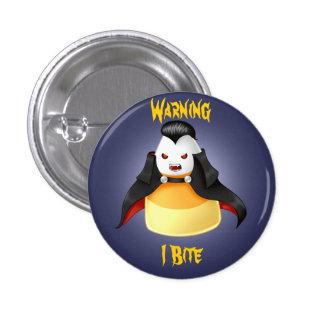 Cute Kawaii Halloween Vampire candy corn Pinback Button