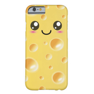 Cute Kawaii Happy Cheese Barely There iPhone 6 Case