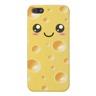 Cute Kawaii Happy Cheese Case For iPhone 5/5S