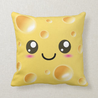 Cute Kawaii Happy Cheese Cushion