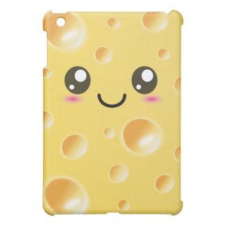 Cute Kawaii Happy Cheese iPad Mini Cases