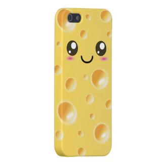 Cute Kawaii Happy Cheese iPhone 5/5S Cover