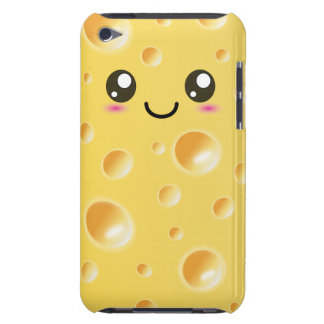 Cute Kawaii Happy Cheese Slice Case-Mate iPod Touch Case