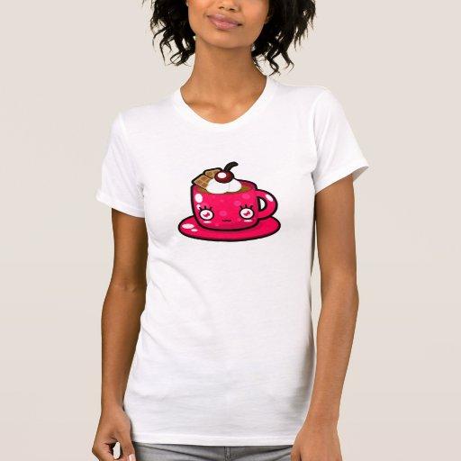 Cute Kawaii Hot Chocolate Mug T-Shirt