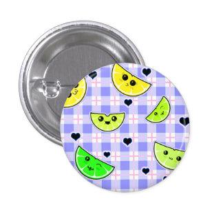 cute kawaii lemon lime design for teen girl pin