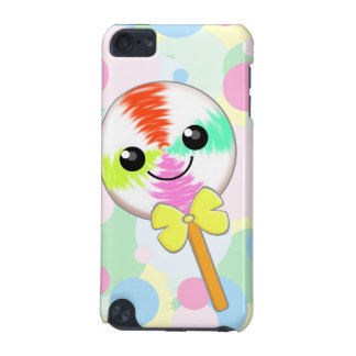 Cute Kawaii Lollipop with Bow Tie iPod Touch Skin iPod Touch (5th Generation) Covers