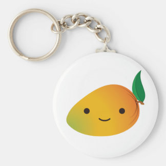 Cute Kawaii Mango Key Ring