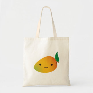 Cute Kawaii Mango Tote Bag