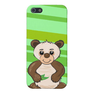 Cute Kawaii Panda iphone4 case Cover For iPhone 5
