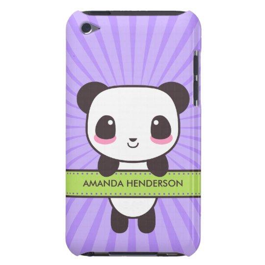 Cute Kawaii Panda Personalised iPod Touch Case