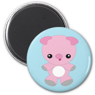 Cute kawaii pig magnet