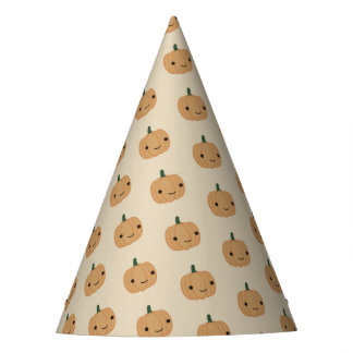 Cute Kawaii Pumpkin Party Hat