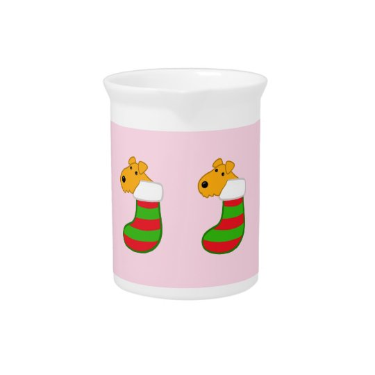 Cute Kawaii Puppy Dogs Christmas Stockings Pitcher