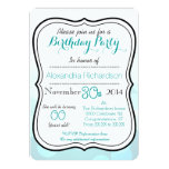 Cute Kawaii red fox birthday party Personalized Announcement