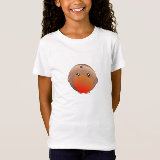 Cute kawaii robin red breast t-shirt