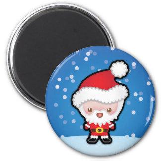Cute Kawaii Santa Claus Christmas Fridge Magnet