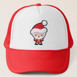 Cute Kawaii Santa Claus Christmas Trucker Hat
