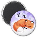 Cute Kawaii Sleeping cartoon fox