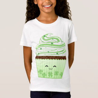 Cute kawaii St Patricks day cupcake T-Shirt