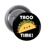 Cute kawaii Taco Time! button