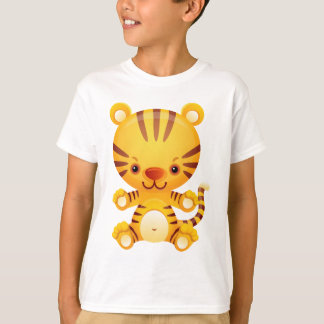Cute Kawaii Tiger T-Shirt