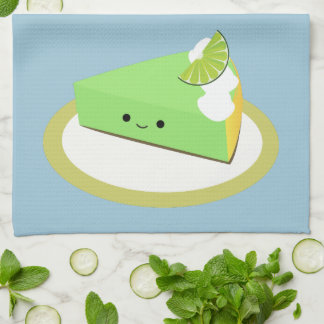 Cute Key Lime Pie Tea Towel