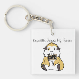 Cute KGPR Guinea Pig Keychain