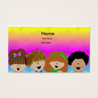 Cute Kids Business Card