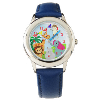 Cute Kids Cartoon Jungle Animals Fun Picture Watch