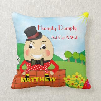 Cute Kids Nursery Rhyme Humpty Dumpty Personalised Cushion