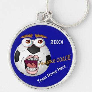 Cute Kids Soccer Coach Gift Ideas YEAR & TEAM NAME Key Chains