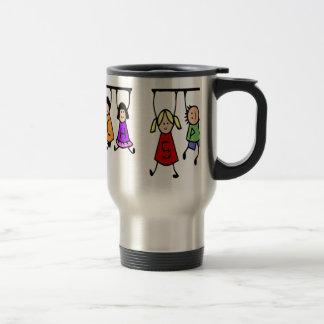 Cute Kids Speech Therapist Word Travel Mug