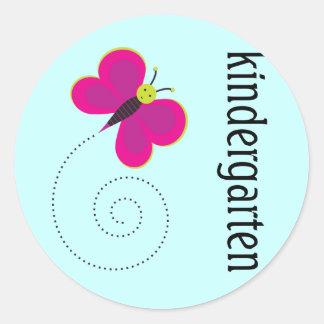 Cute Kindergarten Teacher Sticker