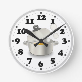 Cute Kitchen Wall Clock