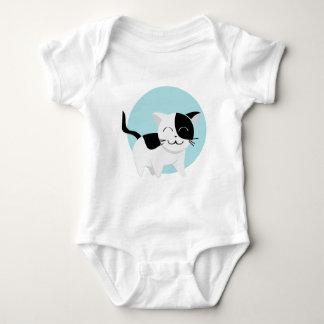 Cute Kitten Baby Bodysuit