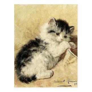 Cute Kitten by Ronner Postcard