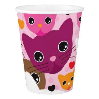 cute kitten cat background pattern