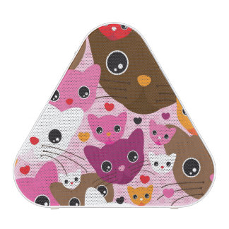 cute kitten cat background pattern