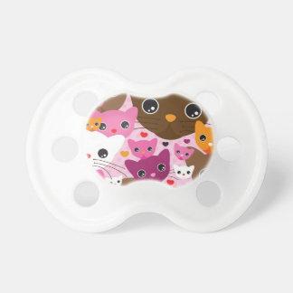 cute kitten cat background pattern dummy