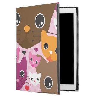 """cute kitten cat background pattern iPad pro 12.9"""" case"""