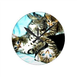 Cute Kitten clock for all cat lovers!