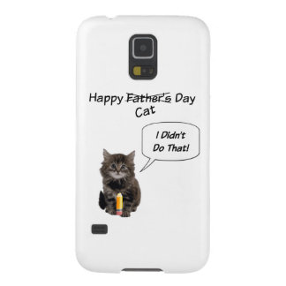 Cute Kitten Father's Day Samsung Galaxy Case