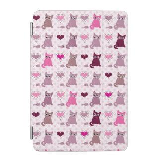 Cute kitten girls pattern iPad mini cover