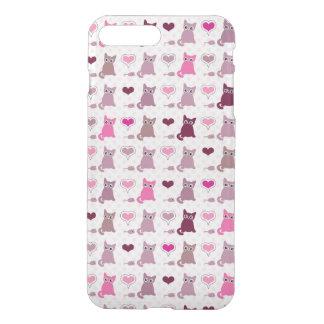 Cute kitten girls pattern iPhone 8 plus/7 plus case