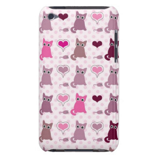 Cute kitten girls pattern iPod touch cover