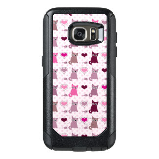 Cute kitten girls pattern OtterBox samsung galaxy s7 case