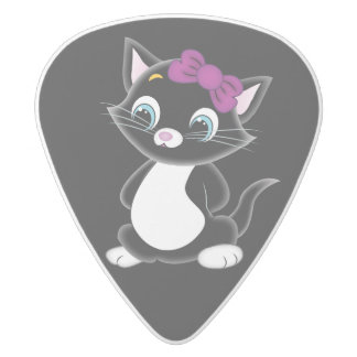 Cute Kitten Guitar Pick
