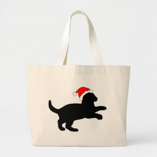 Cute Kitten in a Christmas Hat Tote Bag